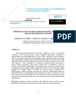 OPTIMUM TUNING OF PID CONTROLLER FOR A PERMANENT MAGNET BRUSHLESS DC MOTOR.pdf