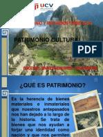 Patrimonio Cultural Natural. Vallejo
