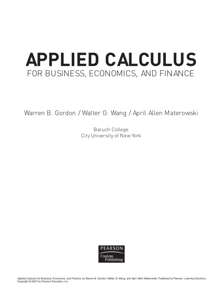 Applied calculus for business gordon pdf integral differential applied calculus for business gordon pdf integral differential calculus fandeluxe Gallery