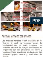 METALES FERROSOS