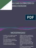 Modernisasi Dan Globalisasi Di Bidang Ekonomi