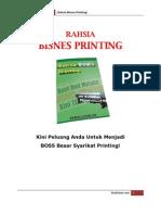 Rahsia Bisnes Printing