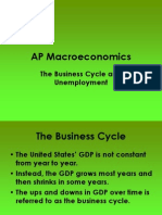 Business Cycle and Unemployment