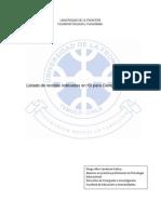 Lista de Revistas Indexadas en ISI Para Ciencias Sociales[1]