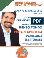 Manifesto 70x100 Campagna Elettorale