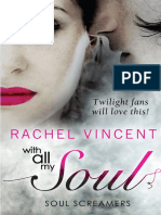 With All My Soul by Rachel Vincent - Chapter Sampler