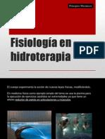Fisiología en hidroterapia