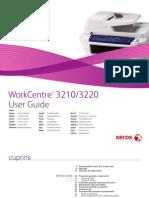Ghid de Utlizare WorkCentre 3210 3220 RO