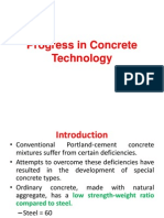 Lecture 2 - Progress in Concrete