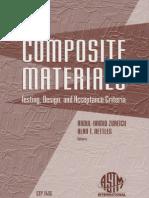Composite Materials Testing Design and Acceptance Criteria 0803128932