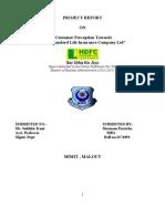 hdfc final reportsheenu.doc