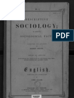 Descriptive Sociology or Groups of Sociological Facts pt 1