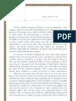 Posiyion Essay