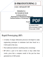rapid prototyping technique
