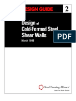 CFSEI Shear Wall Design Guide