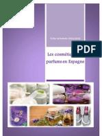 FICHE SECTORIELLE Cosmetique Espagne