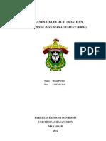 Sejarah Sarbanes Oxley Act
