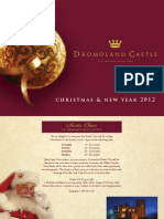 Christmas Brochure 2012