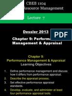 HRM Dessler 9 Appraisal