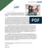 GWB Donation Letter