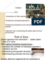What is the Need of Zoos and Seedbanks
