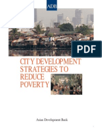 City Development Strategies to Reduce Poverty