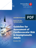 Cardiovascular Risk in Asymptomatic Adults