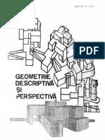 Geometrie Descriptiva Si Perspectiva - Mircea Enache, Iulius Ionescu