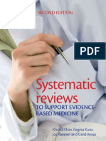 Systematic Reviews to Support EBM (2nd Edition, 2011)