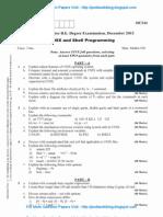UNIX & Shell Programming DEC 2012 NEW Is