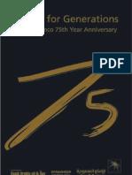 Saudi Aramco 75 Years Anniversary