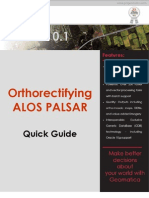 PCI Geomatica - Palsar Tutorial