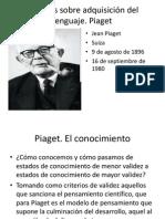 Borja Rodriguez Sesion 6 7 8 y 9. Jean Piaget