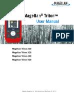 Magellan Triton 300 Manual