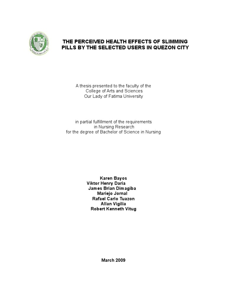 front page of our thesis