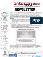 Newsletter Week 10 Term1 2013