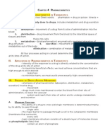 Chapter 4 - Pharmacokinetics