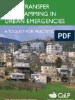 Cash Transfer Programing in Urban Emergencies