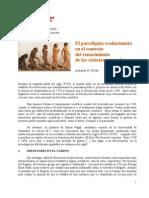 El paradigma evolucionista en el contexto del surgimiento de la ciencia moderna (Armando H. Toledo)
