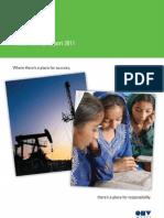 OMV Sustainability Report 2011 En