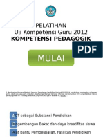 Latihan Ukg Kompetensi Pedagogik 2012