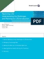 Challenges of LTE Migration
