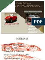 51436135 Case Study the NEW CUSTOMER DECISION Pininfarina Mitsubishi