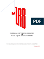 Material & Welding Guidelines (February 2012)