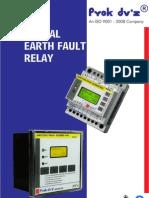 Earth Fault Relay Digital