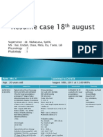Resume Case 18th August