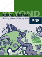 Beyond Rural Urban - Keeping up with Changing Realities