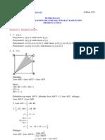 Pembahasan Osn Matematika Smp 2012 Pilihan Ganda Tingkat Kabupaten