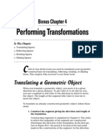 Chapter04 Performing Transformations