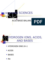 Nsg 201 - Acid Base Lecture NOTES